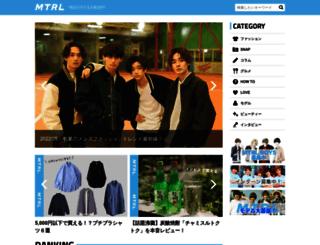 mtrl.tokyo screenshot