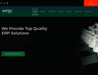 mtsisolutions.com screenshot