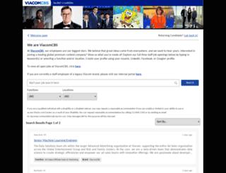 mtvncareers.com screenshot