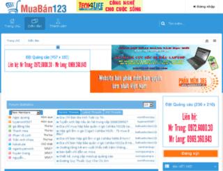 muaban123.vn screenshot