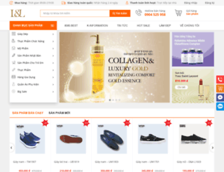 muahangchatluong.com screenshot