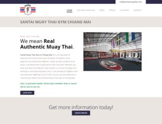 muay-thai-santai.com screenshot