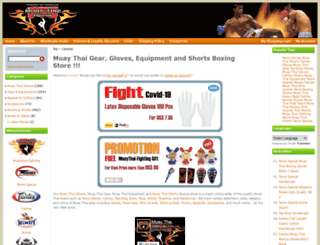 muaythai-fighting.com screenshot