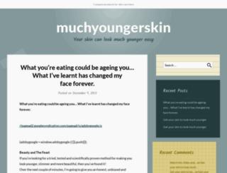 muchyounger.wordpress.com screenshot