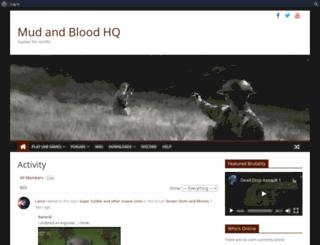 mudandblood.net screenshot