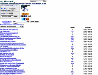 mudcat.org screenshot