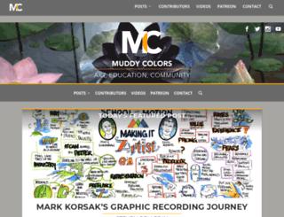 muddycolors.blogspot.it screenshot