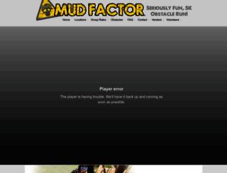 mudfactor.com screenshot