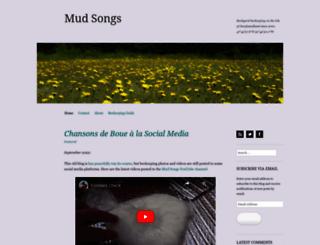 mudsongs.org screenshot
