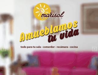 muebleriamarisol.com screenshot