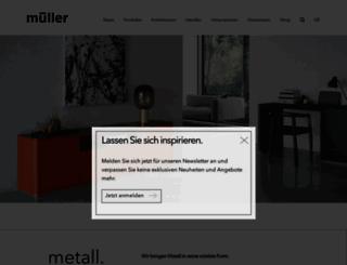 mueller-moebel.com screenshot