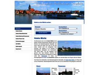 mueritzgastgeber.de screenshot