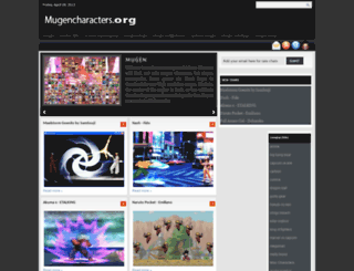 mugencharacters.org screenshot