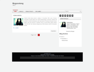 mugusotong.blogspot.com screenshot