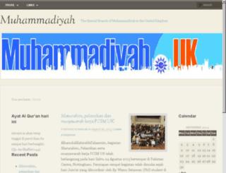 muhammadiyah.org.uk screenshot
