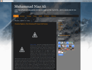 muhammadniazali.blogspot.com screenshot