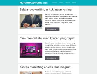 muhammadnoor.com screenshot