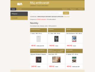 muj-antikvariat.cz screenshot