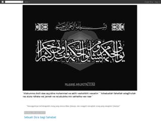 mujahidinkekasihallah.blogspot.com screenshot
