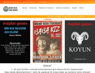 mujdatgezensanatmerkezi.com.tr screenshot