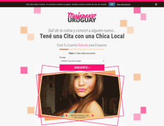 mujeresuruguay.com screenshot