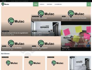 mulac.be screenshot