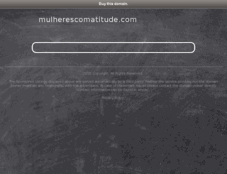 mulherescomatitude.com screenshot