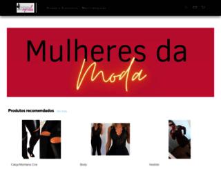 mulheresdamoda.com.br screenshot