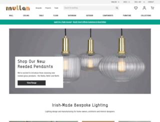 mullanlighting.com screenshot