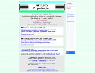 mullinixproperties.com screenshot