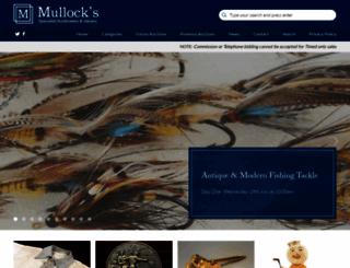 mullocksauctions.co.uk screenshot