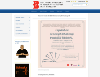 multibiblioteka.waw.pl screenshot
