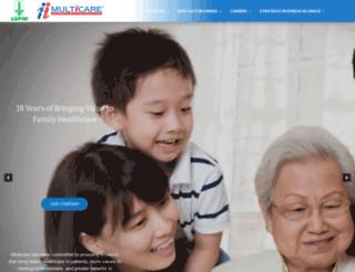 multicare.com.ph screenshot