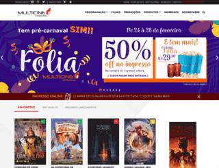 multicinecinemas.com.br screenshot