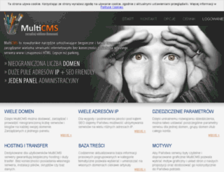 multicms.pl screenshot