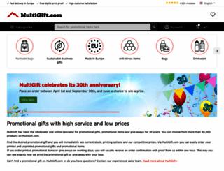 multigift.nl screenshot