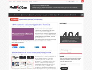 multiinone.com screenshot