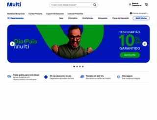 multilaser.com.br screenshot
