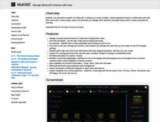 multimc.org screenshot