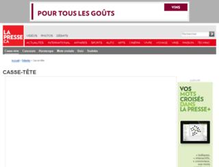 multimedia.cyberpresse.ca screenshot
