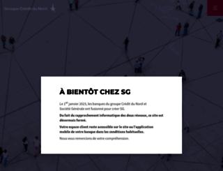 multimedia.groupe-credit-du-nord.com screenshot