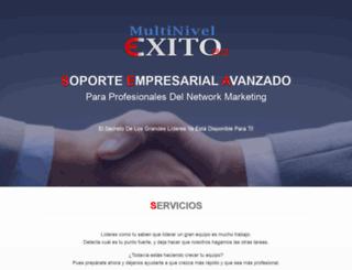multinivelexito.com screenshot