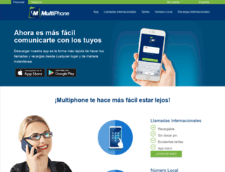 multiphone.net screenshot