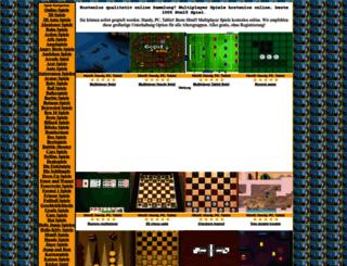 multiplayer-spiele.onlinespiele1.com screenshot