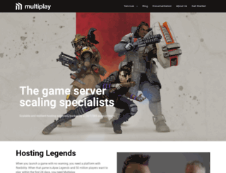 multiplaygameservers.com screenshot