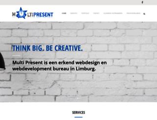 multipresent.nl screenshot