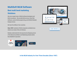 multisoft.com screenshot