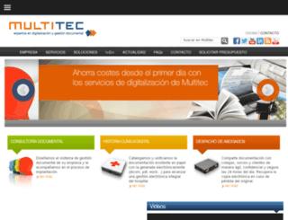 multitecsa.es screenshot