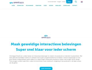 multitouch-software.nl screenshot