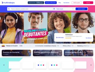 multitrabajos.com screenshot